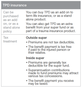 TPD Insurance